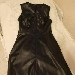 New BENETON leather dress and ZARINA dress