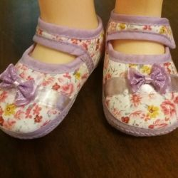 Slippers for the girl