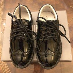 Pantofi (pantofi) complet piele Gulliver