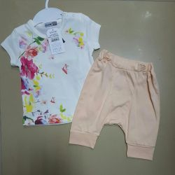 Baby suit. Shorts and a t-shirt