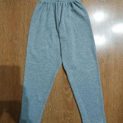 Παντελόνια ζεστά. Ανάπτυξη 104-110.