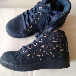 Ботинки для девочки р 27