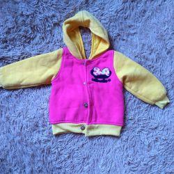 Children's warm jacket