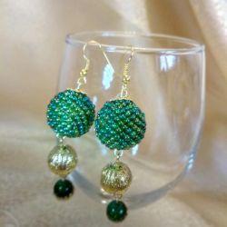 Czech Bead Earrings
