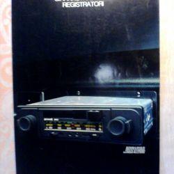 Booklet Autovox 1977god.