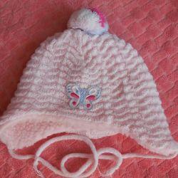 Pălărie de iarnă pentru fete