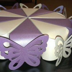 Торт  бумажный свадьба украшение