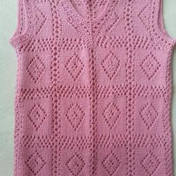 NEW handmade lace vest
