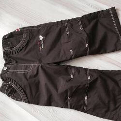 The pants warmed on a lining 1-1.5 years