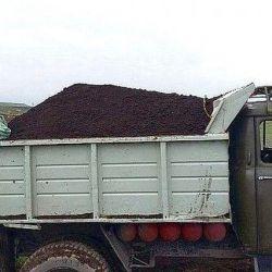 Chernozem ZIL / KAMAZ / 50 kg'lık çantalar.