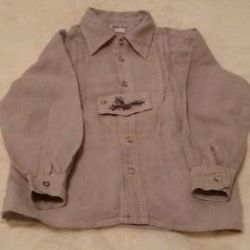 Linen shirt for girls