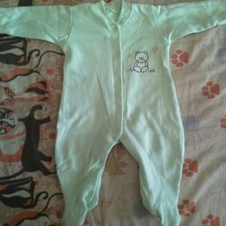 Warm overalls, 62 size
