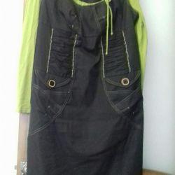 Women's sundress with a jacket