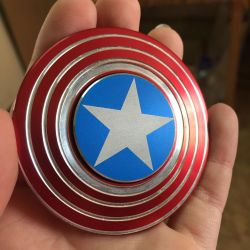 Spinner Shield Captain America