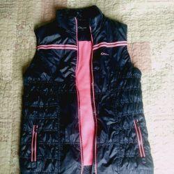 Sleeveless jacket, vest 146, jacket 10 years