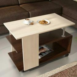 Three-level coffee table