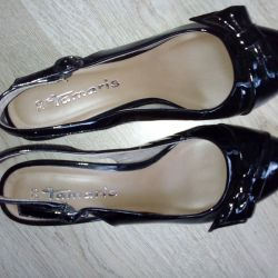 Tamaris shoes are varnish