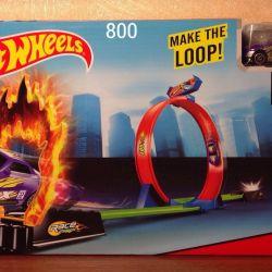 Start Düğmeli Hot Wheels Tracks