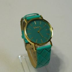 Women's Watch Geneva, color turquoise, new