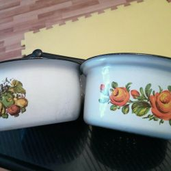 Enameled dishes of the USSR