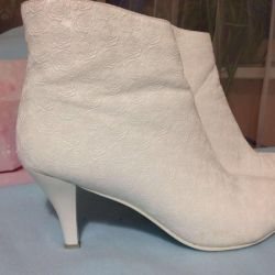 Wedding ankle boots 37r