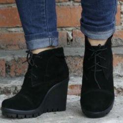 Nat.samshi 40 bedeninden yeni ayakkabılar
