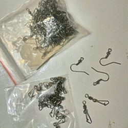Metal hooks in the form of a loop