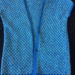 Jacket cape new. Handwork.