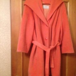 Womens coat with a hood