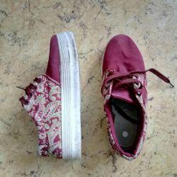 Rag sneakers