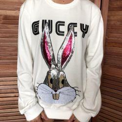 Gucci sweatshirt white