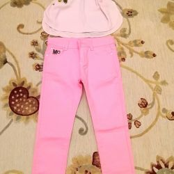 New pink leggings