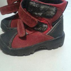 Παιδικά μπότες μεγέθους 22