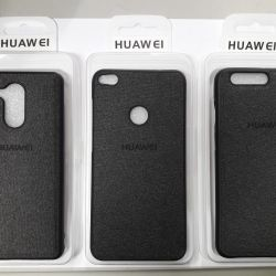 Cover with a fabric insert Honor 10, 9, 8 lite, 6c.