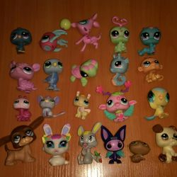 Lot de 20 buc LPS Pet Shop