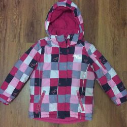 Warm jacket (size 122)