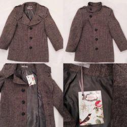 Coat wool 60%