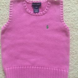 Vest for girl Ralph Lauren