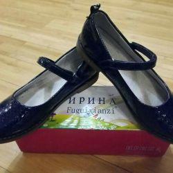 37 pantofi de dimensiune pentru fete