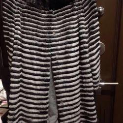 Mink fur coat new