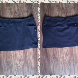 Skirt new black S-M