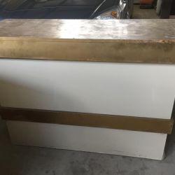 Floor shelf, stand