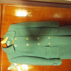 Τυρκουάζ παλτό