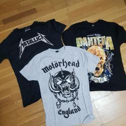 Rock t-shirts
