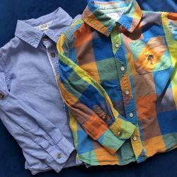 Рубашки для мальчика(2-3 года)