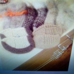 Κάλτσες πλεκτές, ζεστές