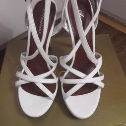 New sandals, size 38