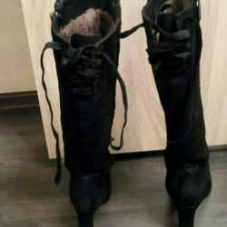 Boots Italy winter all natural r 38 second-hand.