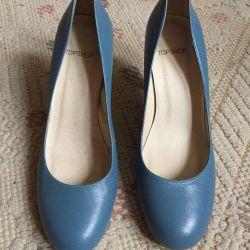 Pantofi de piele de top