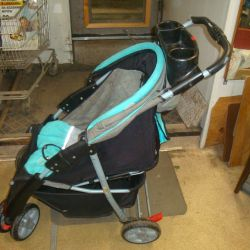 детская коляска складная modern